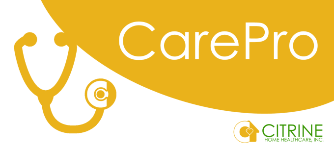citrine carepro logo